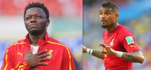 Sulley Muntari and Kevin Prince Boateng were sacked from the Ghana camp