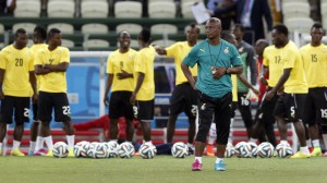 Ghana team was led by coach Kwesi Appiah at the World Cup