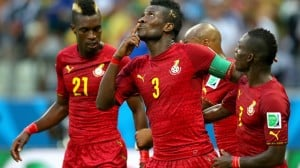 The manager of Ghana striker Asamoah Gyan has rubbished claims on social media that the UAE-based attacker was involved in a car accident in Accra on Thursday.