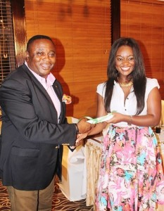 Minister for Youth and Sports and Jackie Appiah