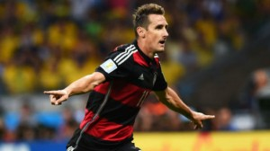Miroslav Klose scored Germany's second to become the World Cup's all-time leading scorer © Getty Images