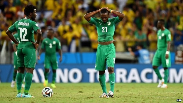 The talented Ivory Coast team were on the verge of qualification until they conceded a last-minute penalty