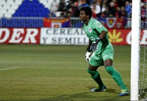Ghana goalkeeper Razak Braimah has been promoted into the first team of Cordoba which means he will be playing in the Spanish top-flight in the coming season.