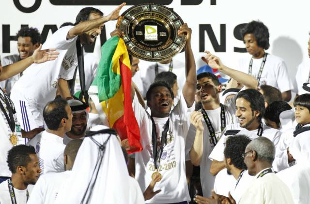 Gyan helped Al Ain to back-to-back league titles