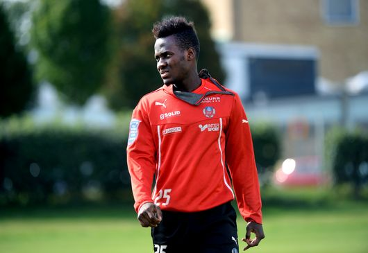 David Accam is in no rush to leave Sweden