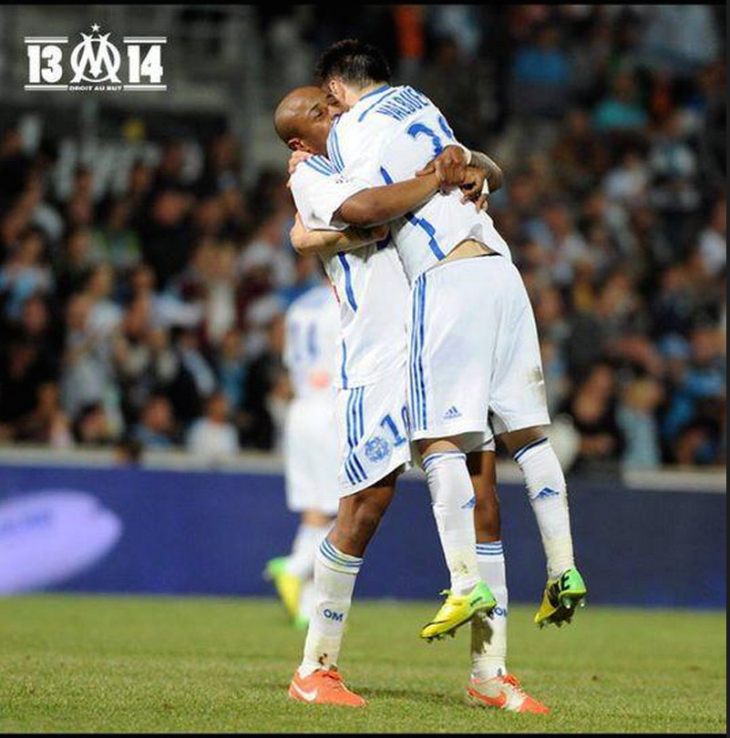 Andre Ayew and Mathieu Valbuena