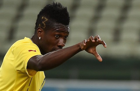 Asamoah Gyan impersonator in the grasp of the law