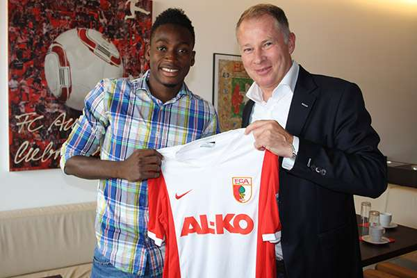 Baba Rahman assisted two goals for Augsburg