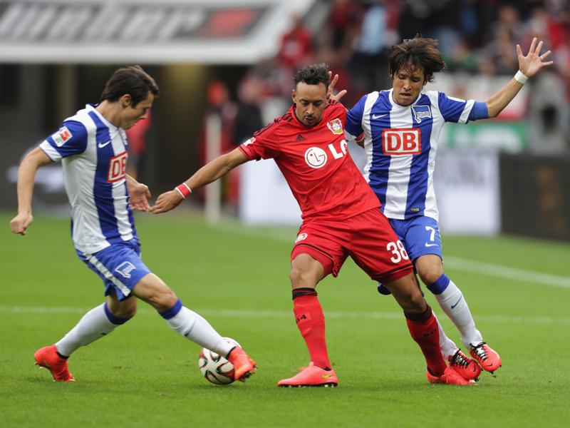 Bellarabi scored for Bayer Leverkusen