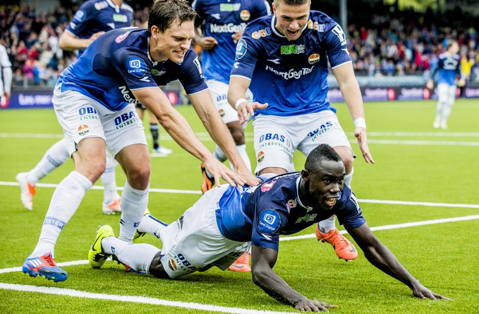 Bismark Adjei Boateng scored for Stromsgodset