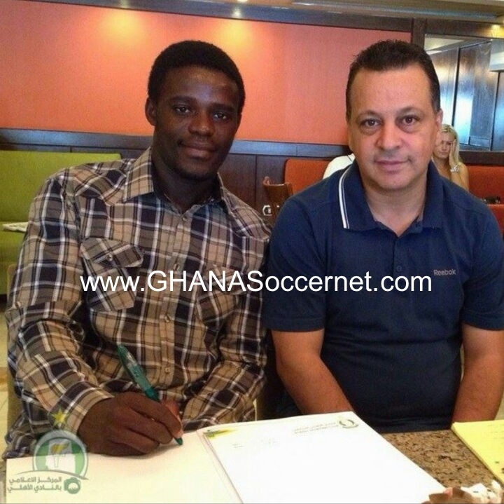 Kwame Boahene signing for Libyan side Ahli Tripoli