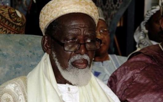 Chief Imam His Eminence Shiek Osmanu Sharubutu.