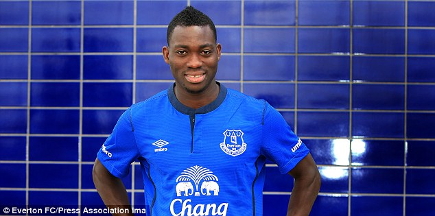 Christian Atsu is on a season's-long loan deal at Everton