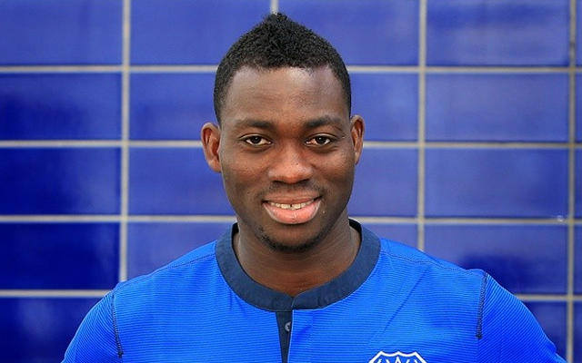 Christian Atsu marked his debut for Everton