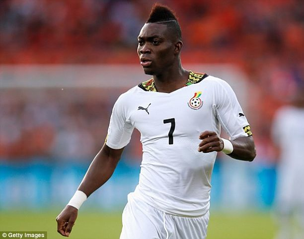 Christian Atsu's form will improve for the Black Stars