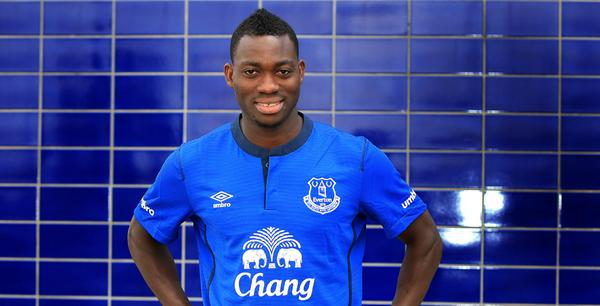 Christian Atsu was left in the stands at the Goodison Park