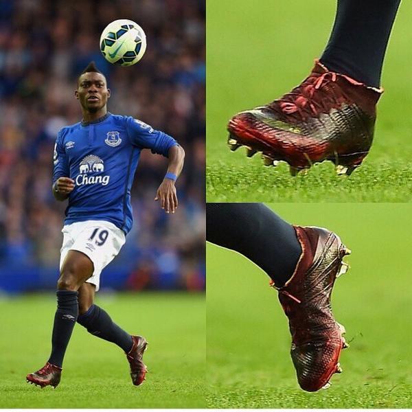 Christian Atsu's incredit boot on Everton debut