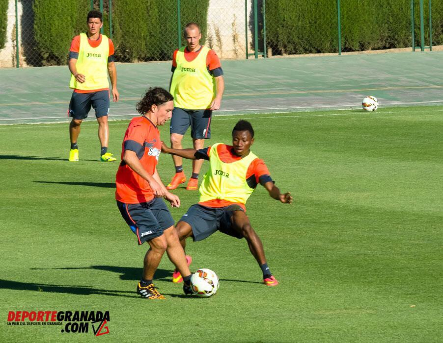 Clifford Aboagye has rejoined the Granada first team squad for training