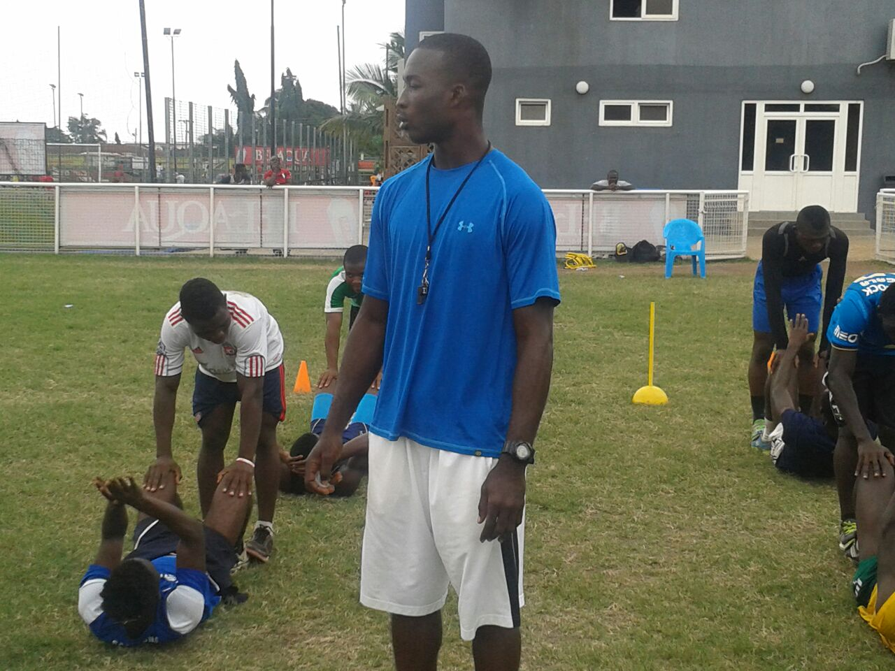 Inter Allies appoint Enoch Daitey as physical instructor