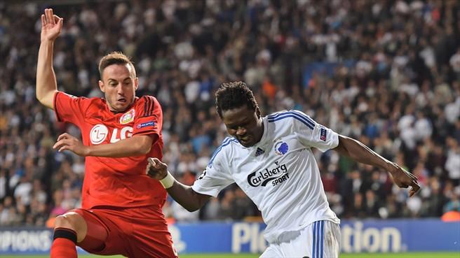 Daniel Amartey scored against Leverkusen