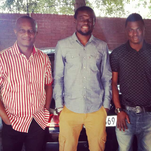 From left: Kwesi Appiah, Fatau Dauda and Rashid Sumaila.