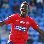 VIDEO: David Accam strikes in Helsingborg IF smooth win over Elfsborg in Swedish top-flight