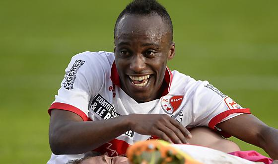 FC Sion will miss Ishmael Yartey