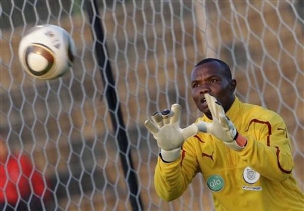 Former Ghana goalkeeper Richard Kingson training with Ghanaian Premier League side Inter Allies