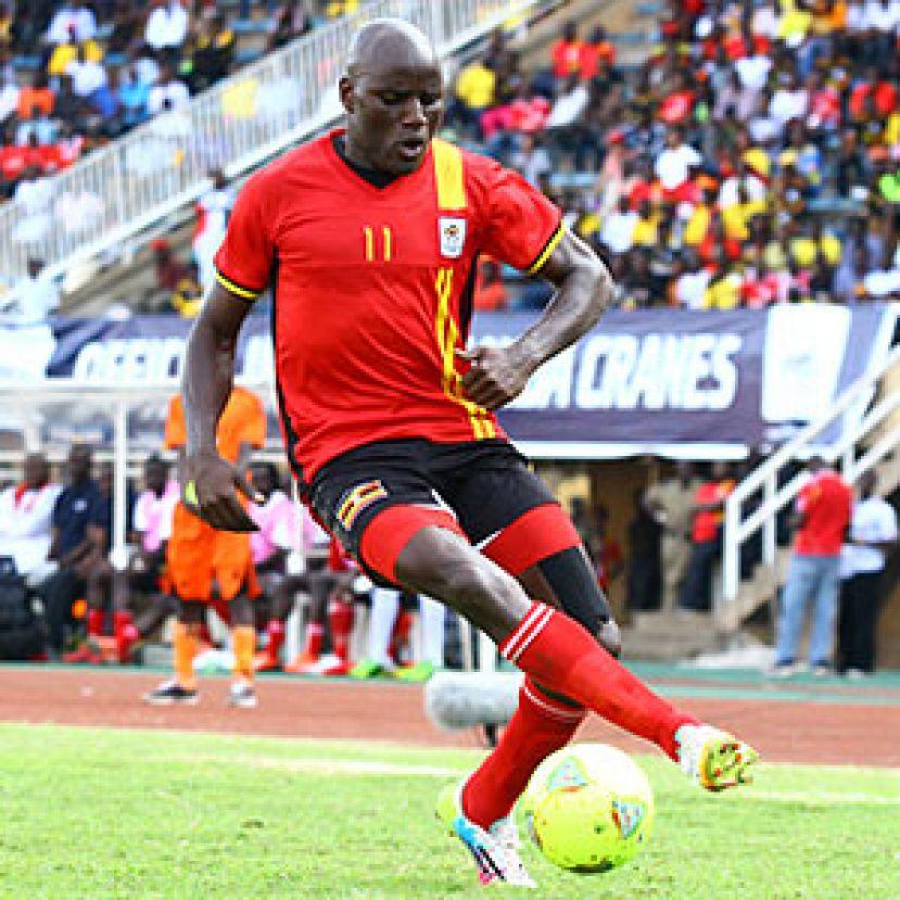 Uganda striker Geoffrey Massa