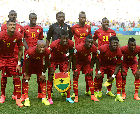 Ghana's squad at the 2014 FIFA World Cup.