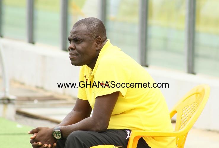 Ghana 20 coach Sellas Tetteh.