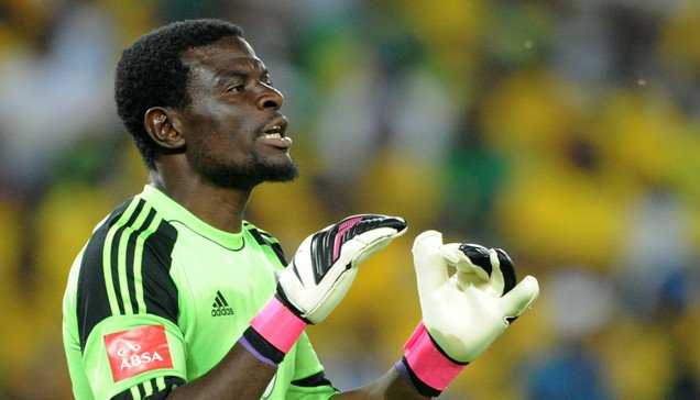 Fatawu Dauda had to pick the ball from his net three times on his Chippa United debut