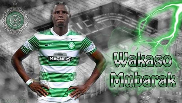Ghana winger Wakaso can't wait to join Celtic