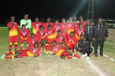 Black Starlets winning a four-nation tournament in Namibia.