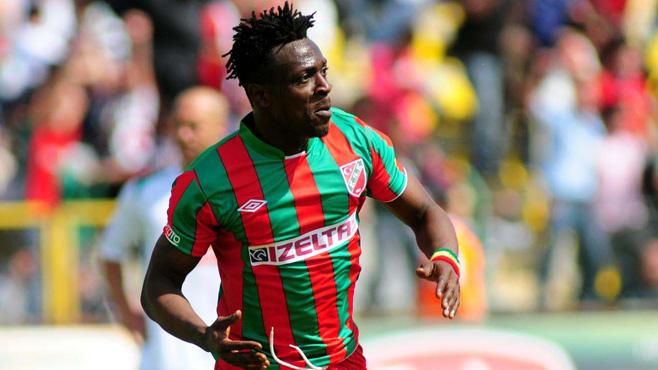 Ghanaian striker Emmanuel Banahene has joined Saudi side Al Orubah