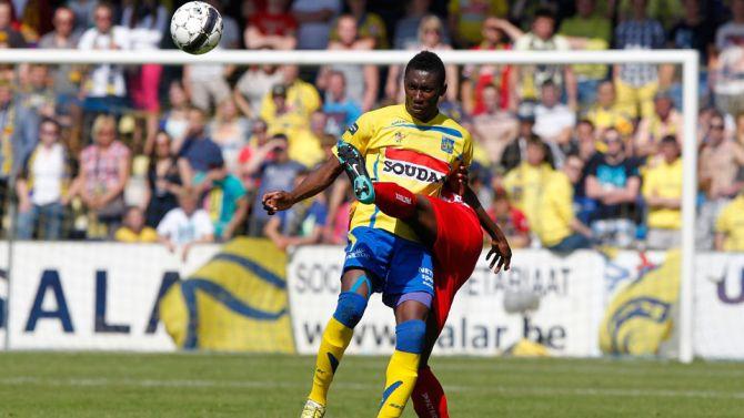 Ghanaian striker William Owusu scored for FC Antwerp