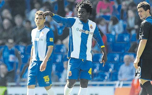 Ghana's Paul Quaye is keen on playing first team football at Malaga