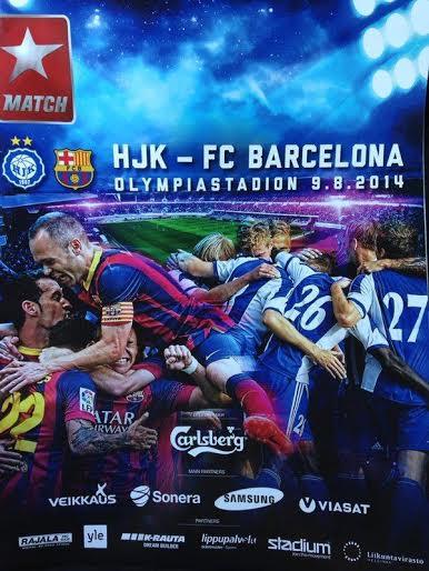 HJK Helsinki to face Barcelona in friendly on Saturday