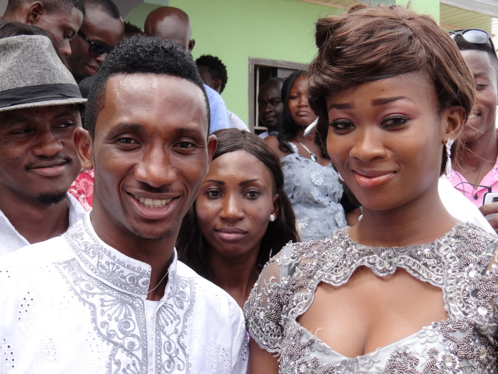 Harrison Afful and wife Roberta Afful