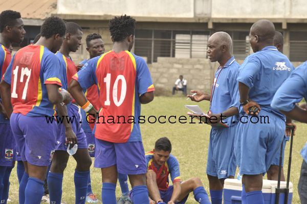 Herbert Addo and Hearts of Oak player