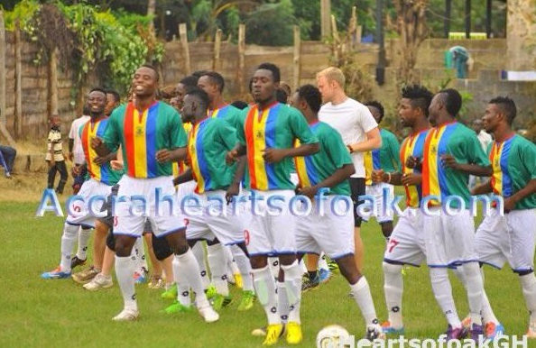 Hearts lost to Tema Youth on Wednesaday