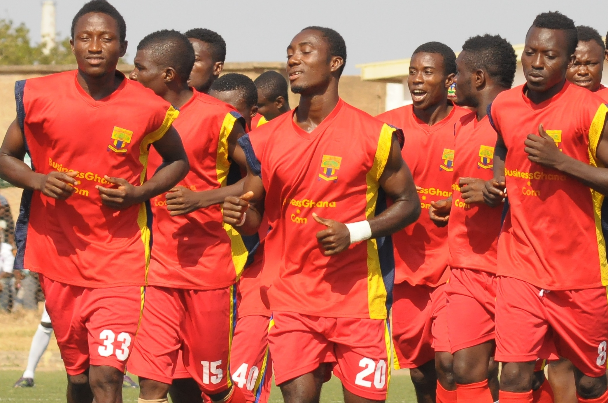 Hearts will play Tema Youth on Wednesday