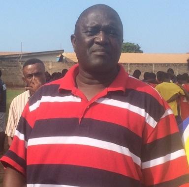 Hearts team manager Sabahn Quaye