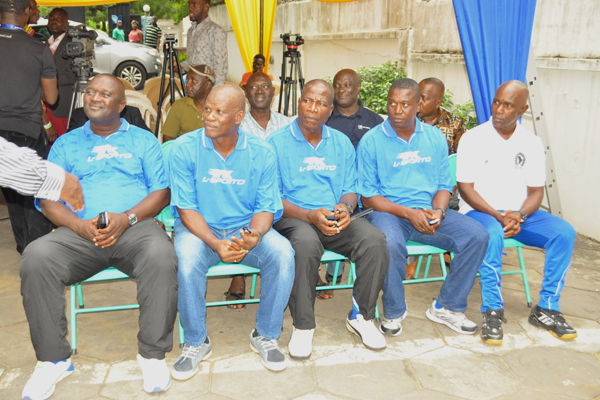 Hearts of Oak new technical team.