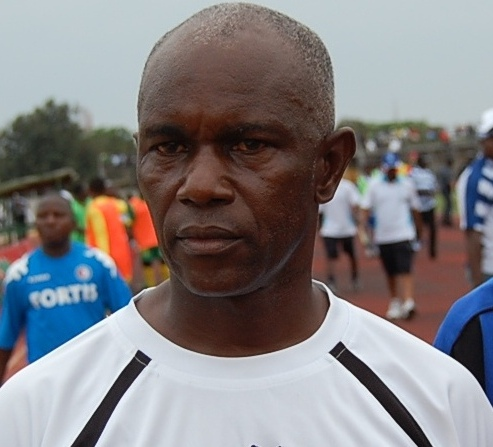 New Hearts coach Herbert Addo