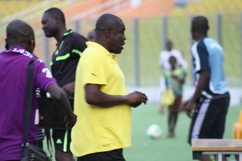 Ghana U20 coach Sellas Tetteh