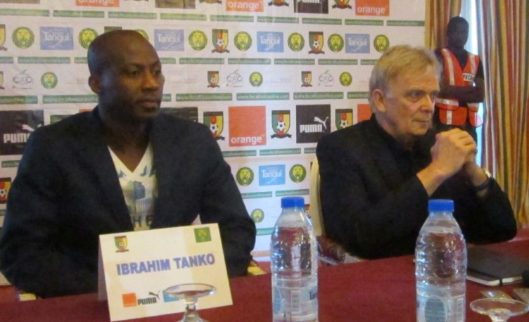 Ibrahim Tanko and Volker Finke.