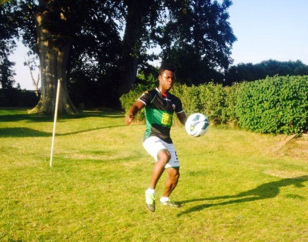 James Papa Yaw training in Sweden