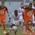 Ghana attacker Jordan Ayew opens scoring account for French side Lorient