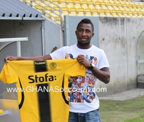 Jospeh Mensah has signed two years for Horsens